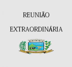 Reunião Extraordinária dia 25/03/2020